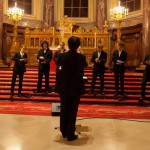 DigiEnsemble Berlin plays Bach featuring Roman Trekel at the Berlin Cathedral | photo Johannes Püschel